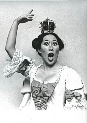 Shigemi Matsumoto as Yolanda in The Freelance (John Philip Sousa) (Revival)